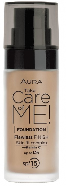 Фон дьо тен Aura Take Care of Me! Liquid foundation 30ml 805 Bronze