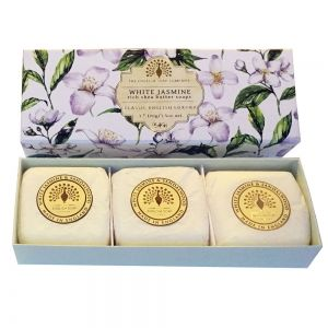 Луксозен Сапун в кутия The English Soap Company White Jasmine Soap 3x100g