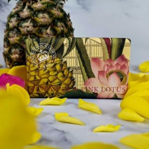 Луксозен Сапун The English Soap Company Pineapple and Pink Lotus Soap 240g