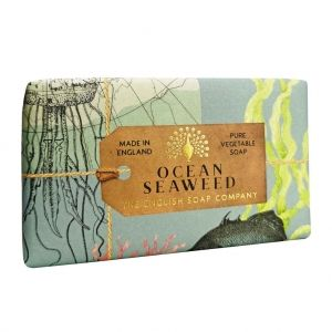 Луксозен ексфолиращ Сапун The English Soap Company Anniversary Ocean Seaweed Exfoliating Soap 200g