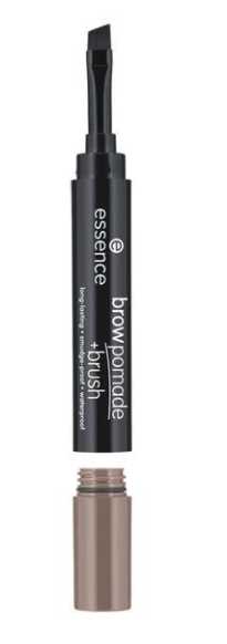Помада за вежди с четка Essence Long-Lasting Smoodge-Proof Waterproof Brow Pomade + Brush 1.2g 02 Ash Blonde