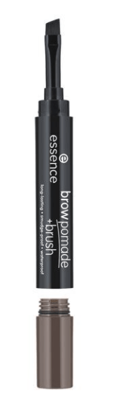 Помада за вежди с четка Essence Long-Lasting Smoodge-Proof Waterproof Brow Pomade + Brush 1.2g 03 Cool Brown
