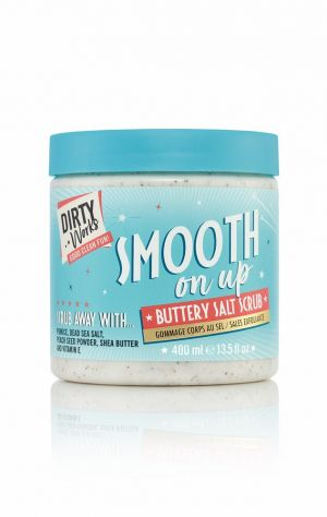 Маслен скраб за тяло Dirty Works Smooth On Up Buttery Salt Scrub 400ml